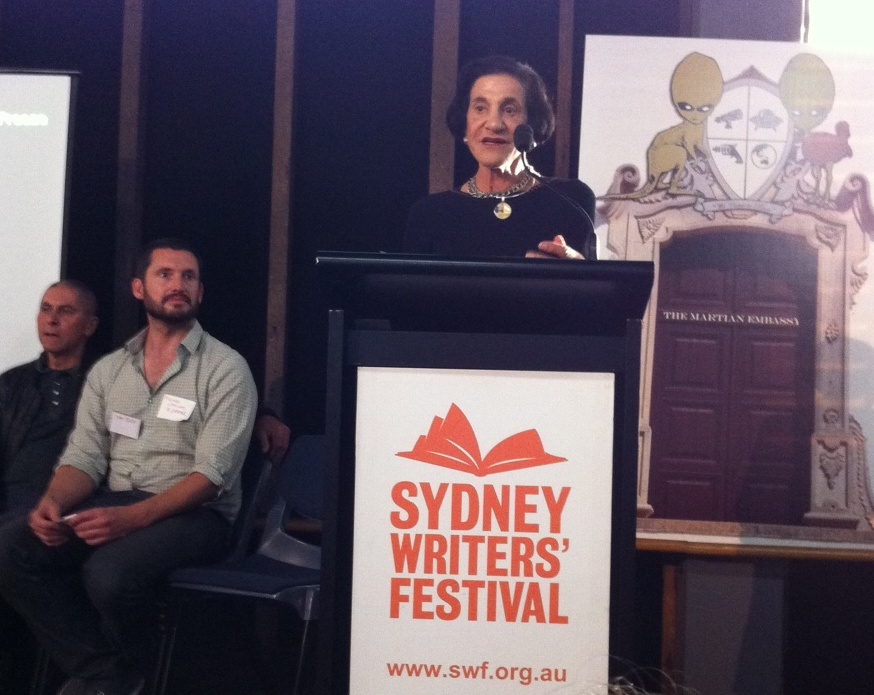 Marie  Bashir Governor of NSW launching The Sydney Story Factory