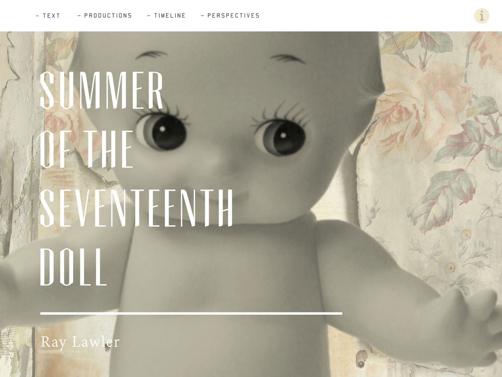The Doll App by Currency Press